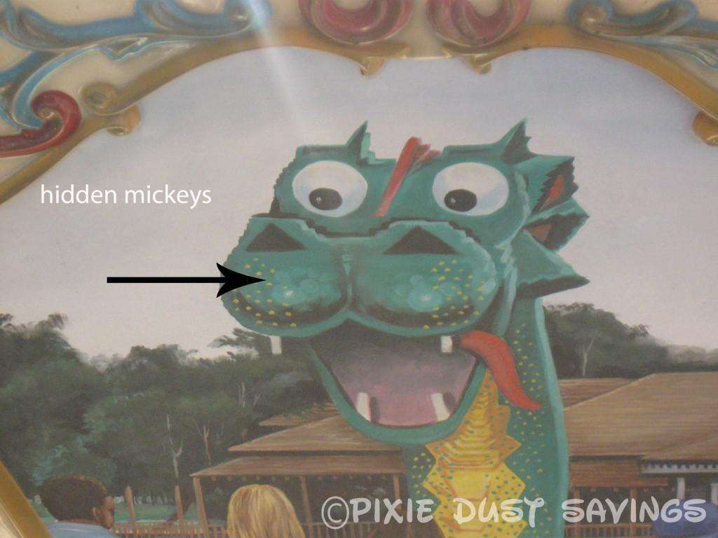 Hidden Mickeys Disney World