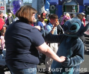 dancing with stitch