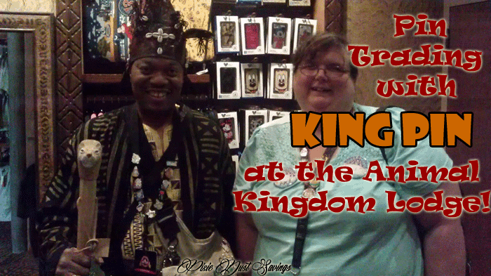 Pin Trading with King Pin at Disney's Animal Kingdom Lodge