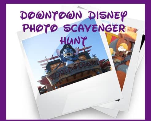 Disney Springs Photo Scavenger Hunt