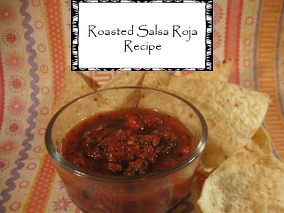 Roasted Salsa Roja Canning Recipe