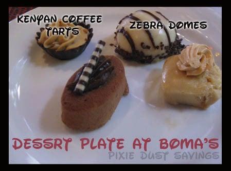Boma dessert plate