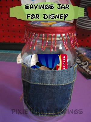 jar with gift card