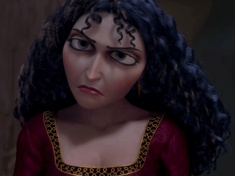 Mother Gothel- Disney's Most Evil Villain