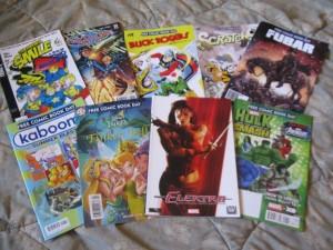 free comic book haul 2013