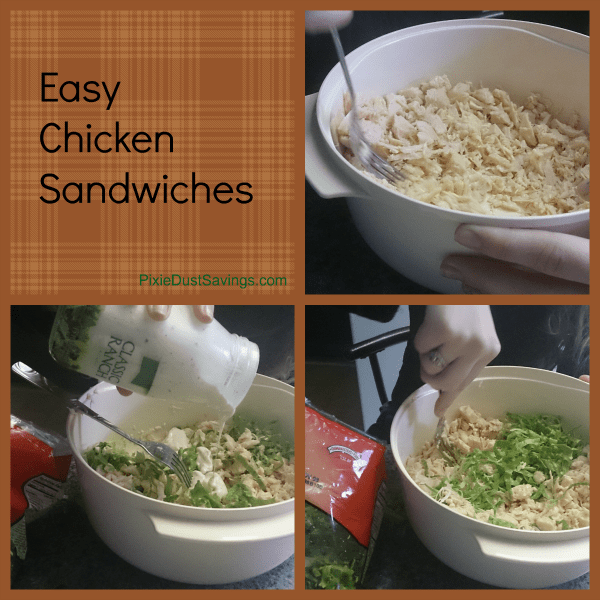 Easy Chicken Sandwiches