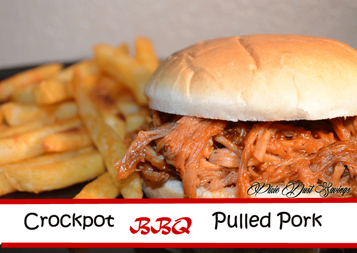Freezer Meal- Crock-Pot Barbecue Pulled Pork with Homemade Sauce