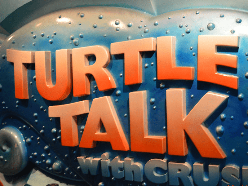 Turtle Talk with Crush at Epcot Tips