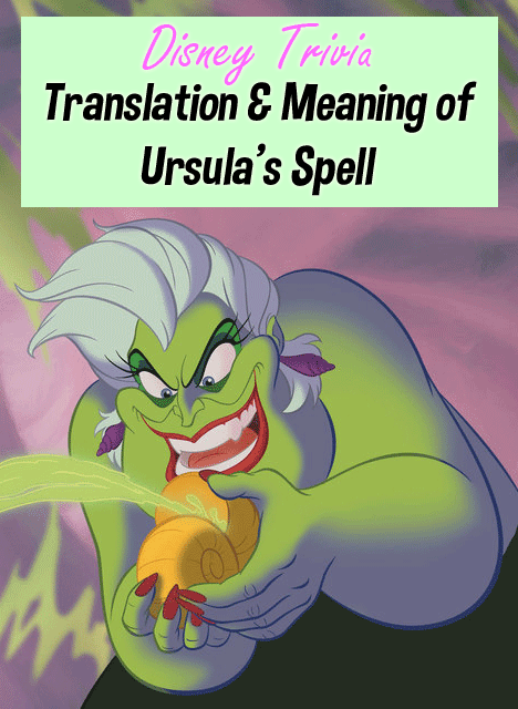 Ursula's Spell Meaning