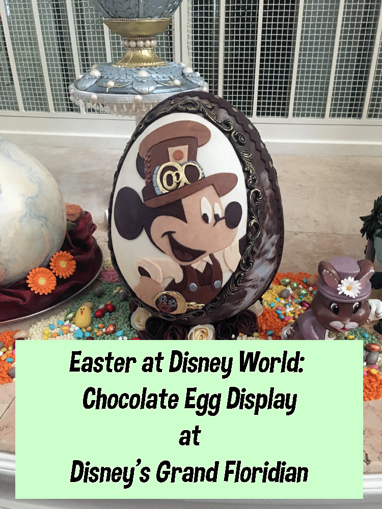Easter Egg Display at Disney's Grand Floridian Resort and Spa