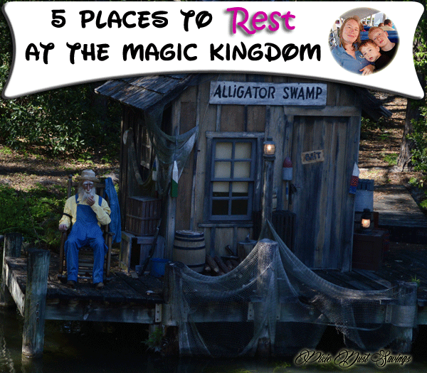 places to rest at the magic kingdom