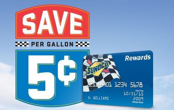 save on gas with sunoco