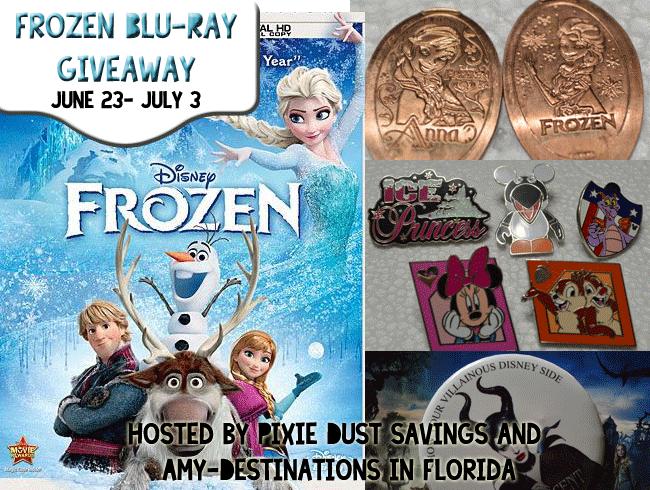 Frozen Blu- Ray Giveaway