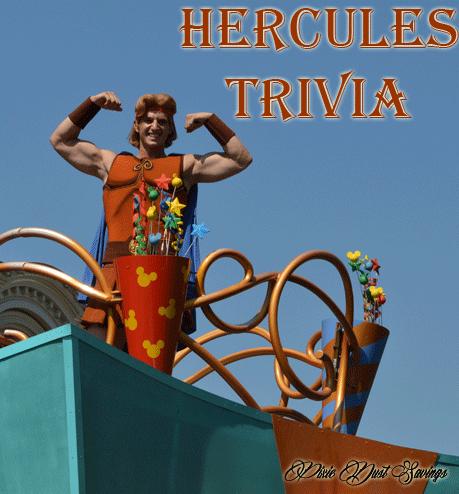 Tiggeriffic Trivia- Hercules