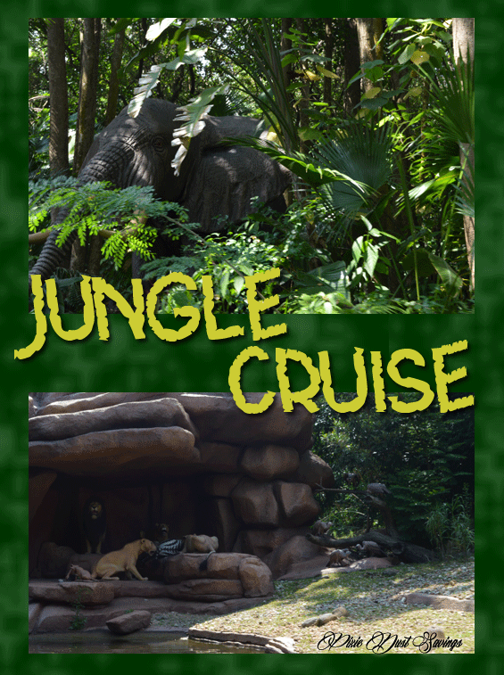 Wordless Wednesday- Disney's Jungle Cruise