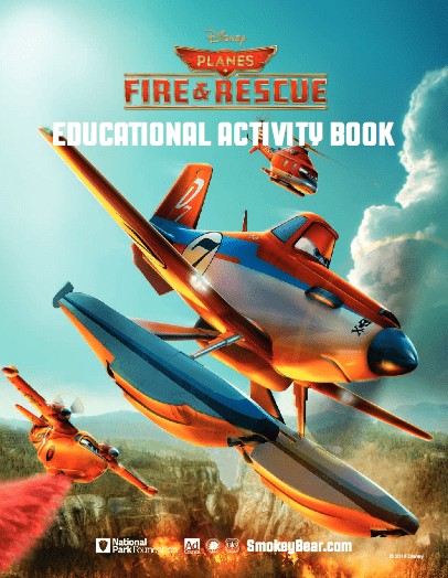 FREE Planes: Fire & Rescue Printable Activity Sheets
