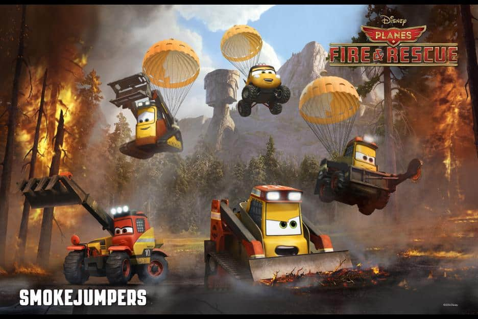 FREE Planes: Fire & Rescue Disney Store Events