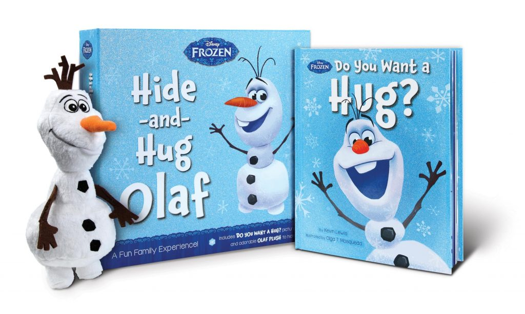 Hide-and-Hug Olaf