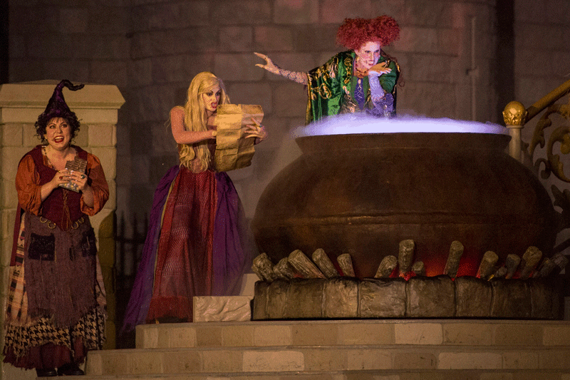 Hocus Pocus Show During Mickey's Not So Scary Halloween Party