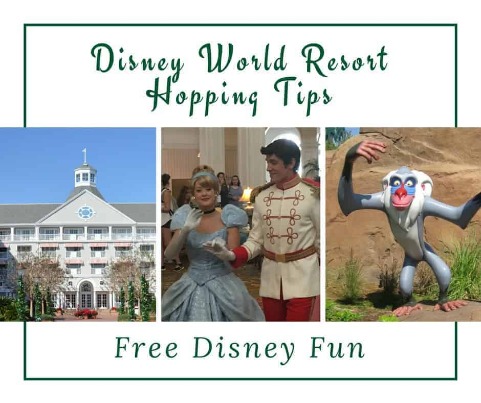 Disney World Resort Hopping Tips