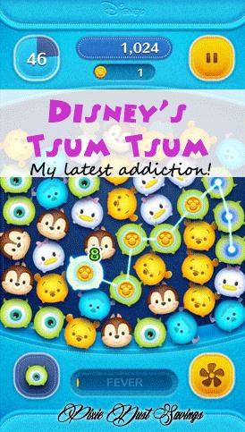 screenshot of tsum tsum game