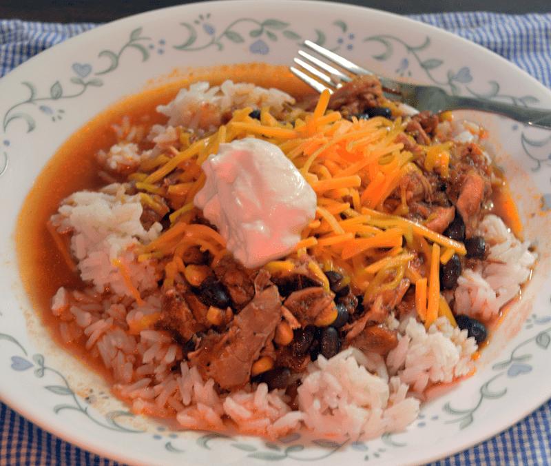Crockpot Mexican Chicken