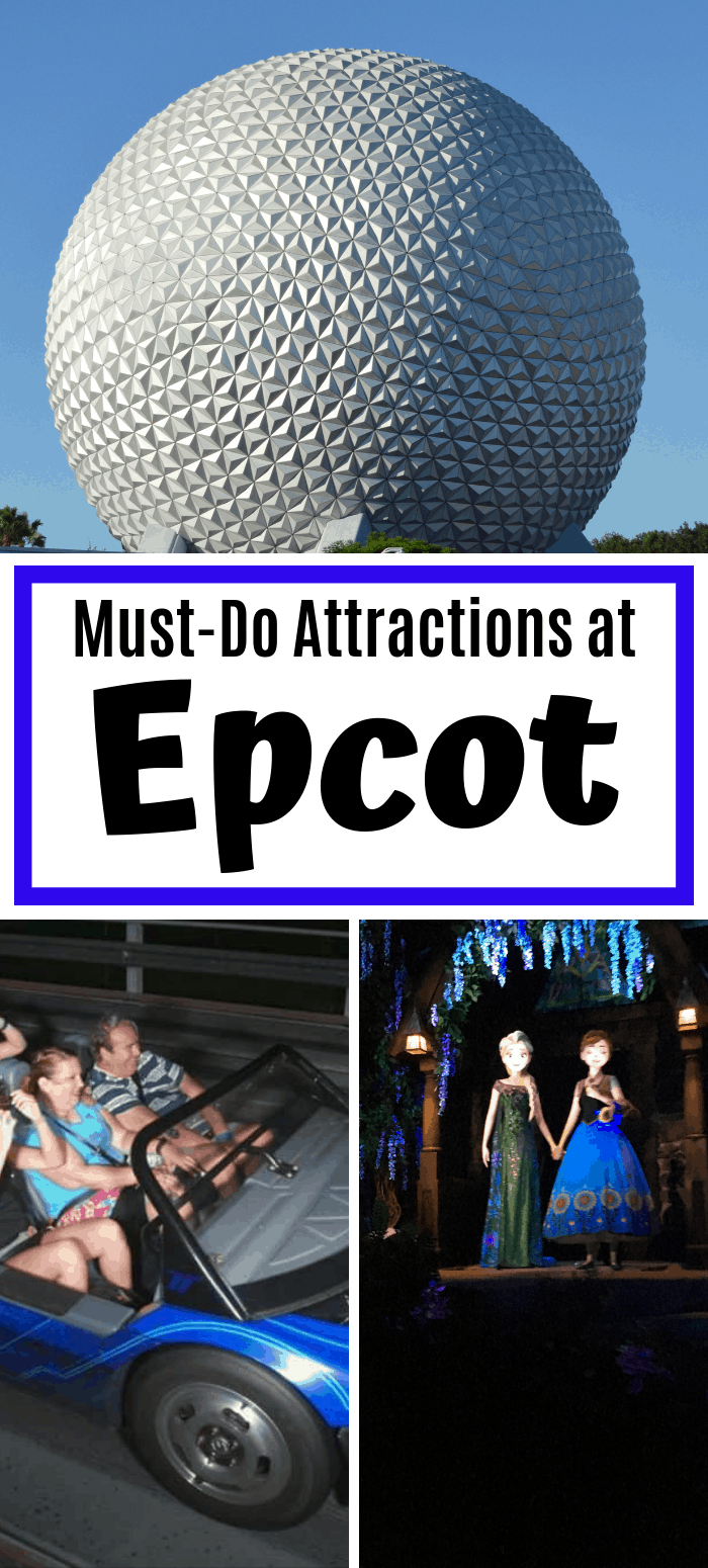 Must Do Attractions at Epcot 2019