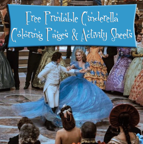 cinderella-activity-pages