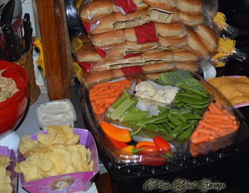 disneyside-party-food