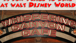 Disney's Whispering Canyon Cafe Review