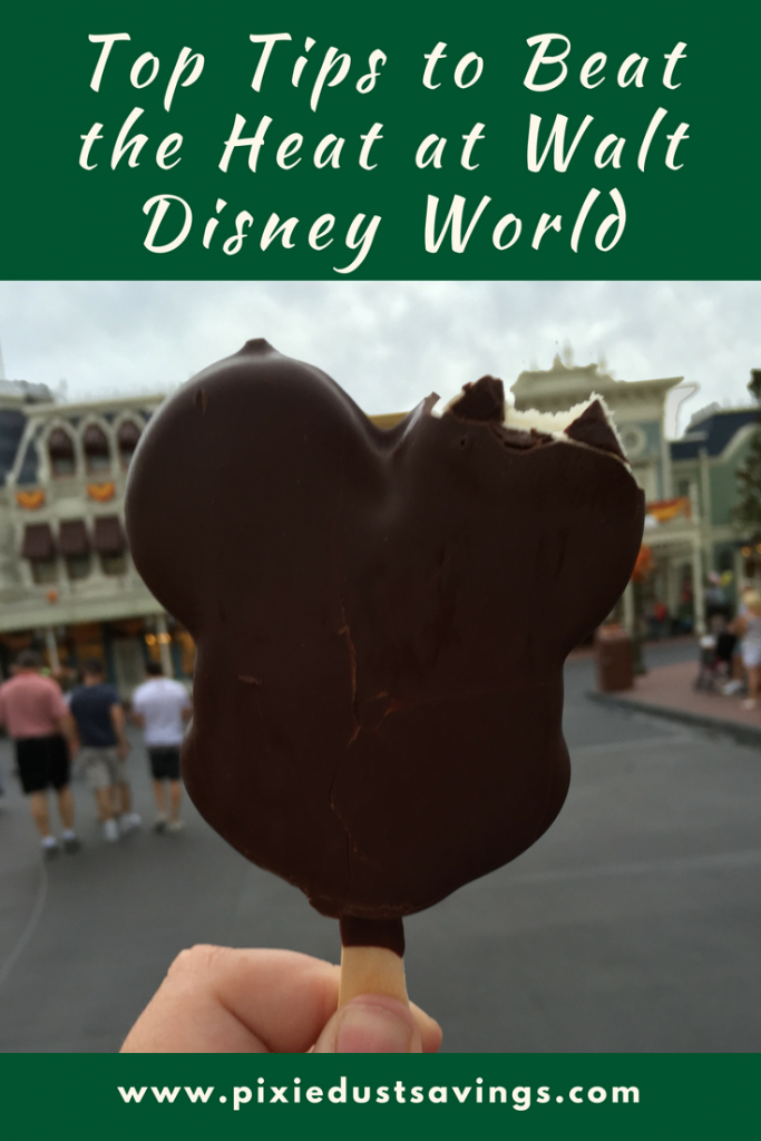 tips for visiting disney world in the summer
