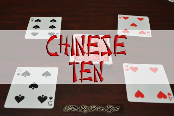 Chinese ten