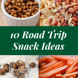10 Perfect Road Trip Snacks