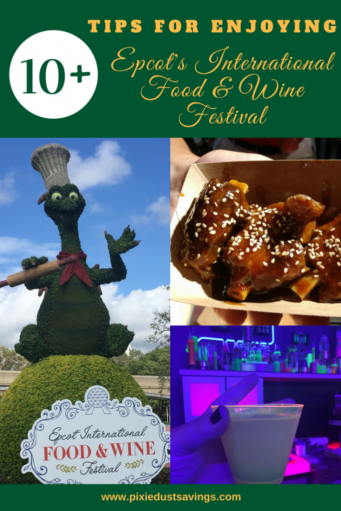 Tips for Enjoying EPCOT's Food & Wine Festival