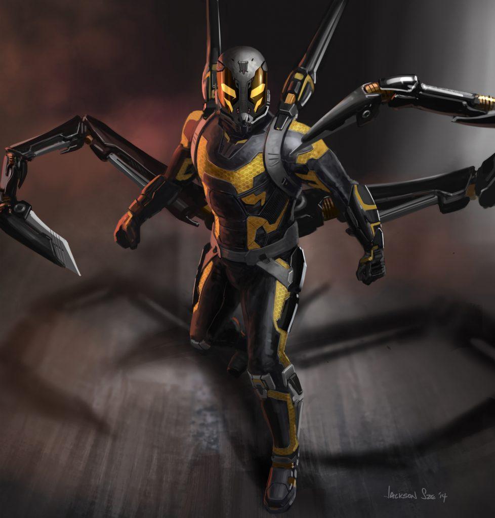 Marvel's Ant-Man..Conceptual Artwork of Yellowjacket..Artist: Jackson Sze..? Marvel 2014