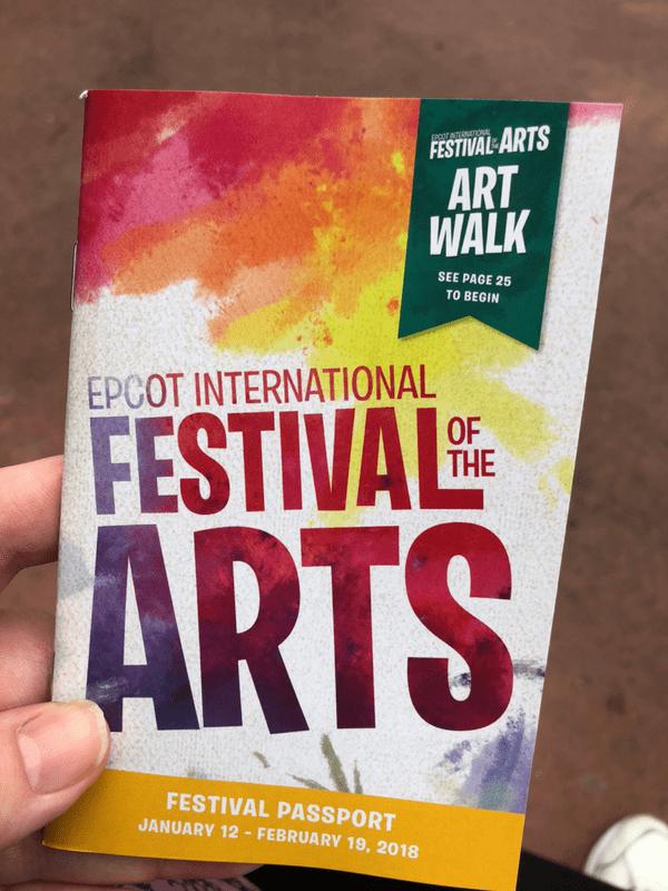 Free Epcot Festival Books