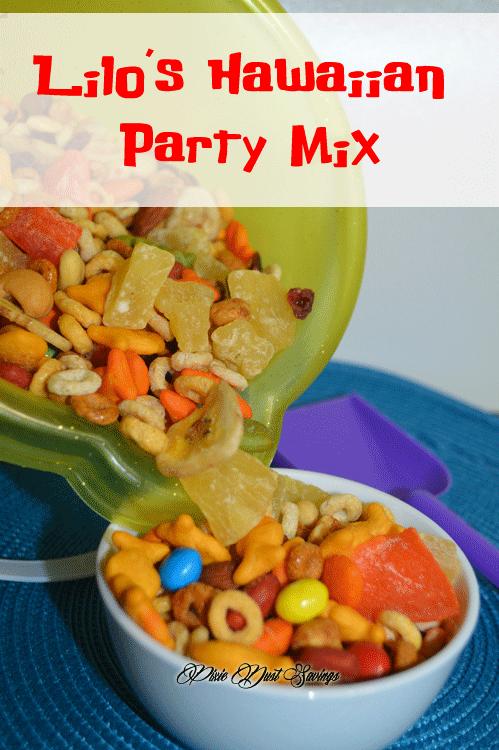 Lilo's Hawaiian Party Mix