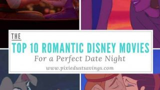 Top 10 Romantic Disney Movies for a Perfect Date Night