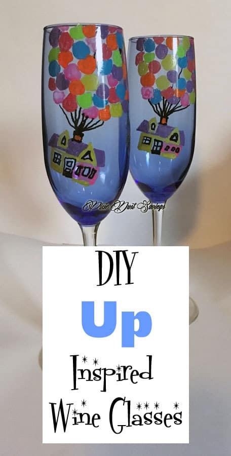 Up Inspired Wine Glasses