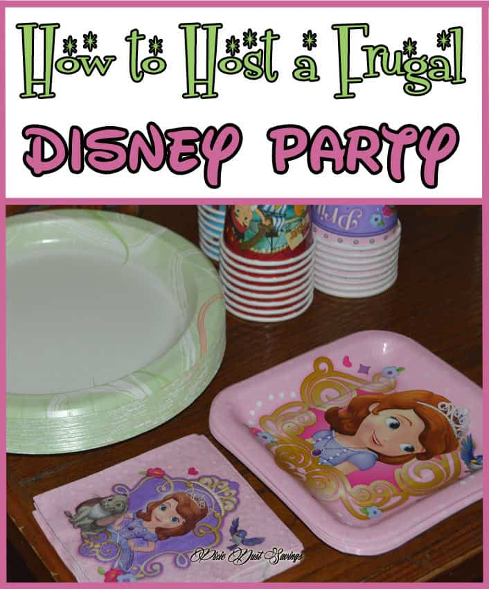 How to Host a Frugal Disney Party