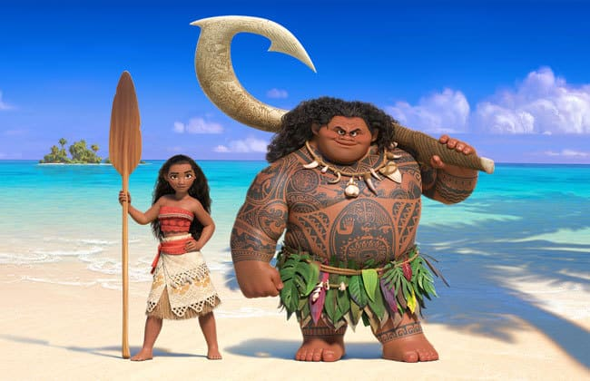 Introducing Disney's Moana