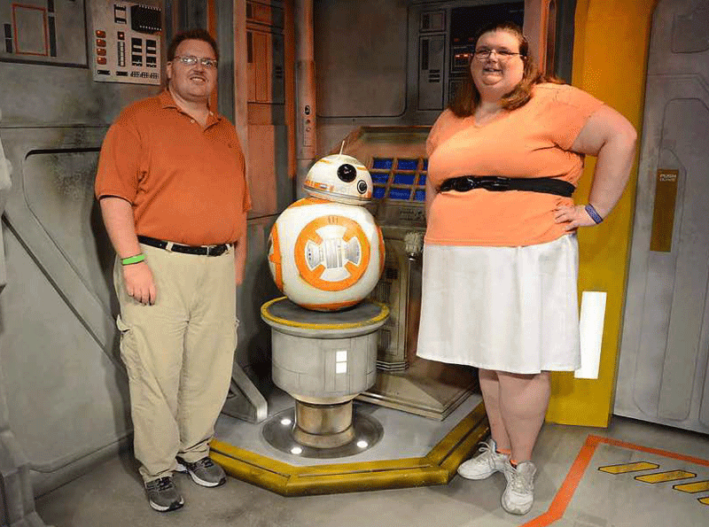 bb8 at Hollywood studios
