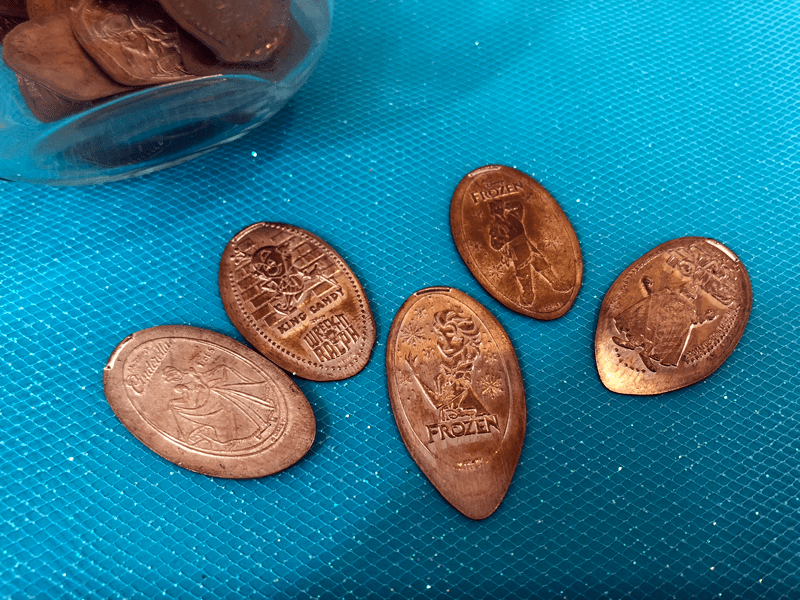 Disney World Souvenir- Pressed Pennies