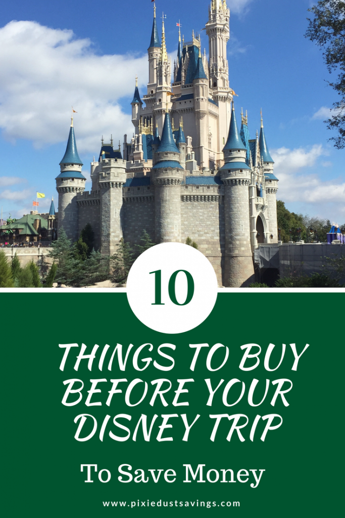 Things to Buy Before Your Disney Trip