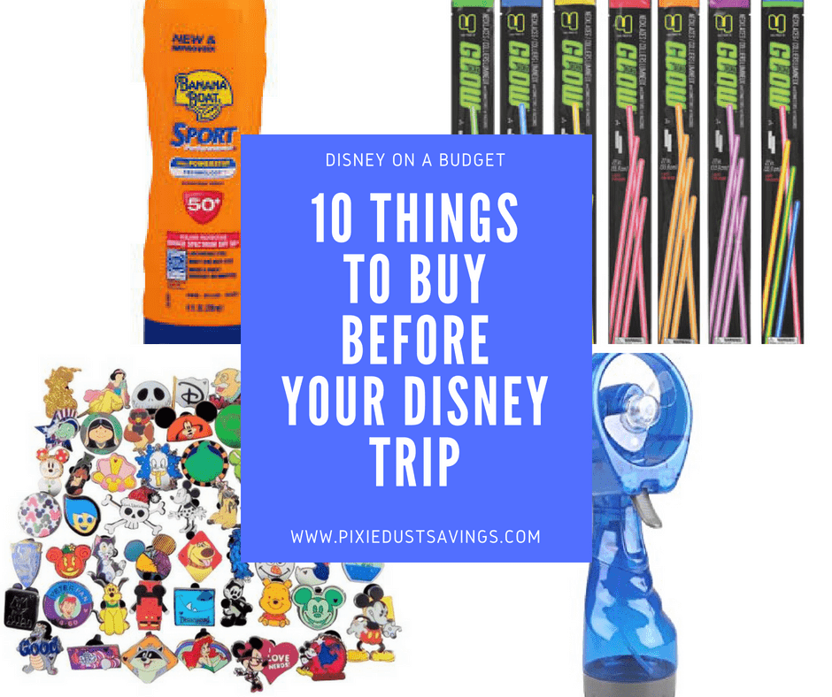 Things to Buy Before Your Disney World Vacation