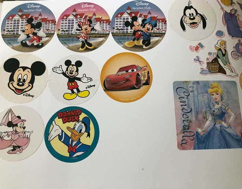 Disney World Freebies - Stickers