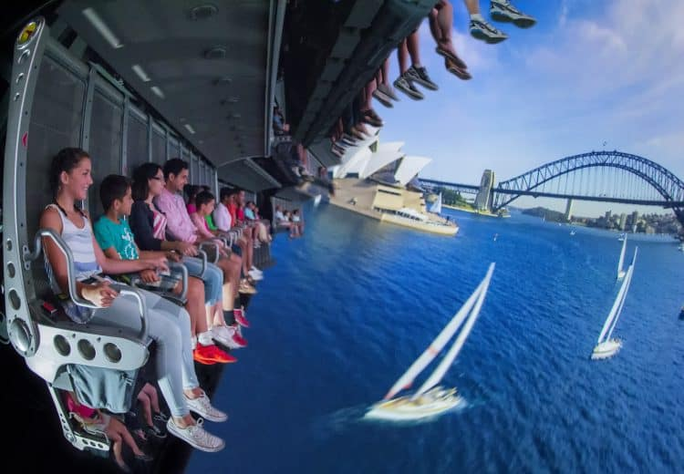 Soarin' Around the World - Sydney Harbor