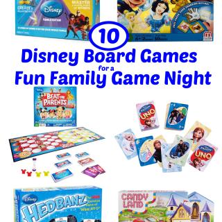 10 Disney Board Games for a Fun Family Game Night