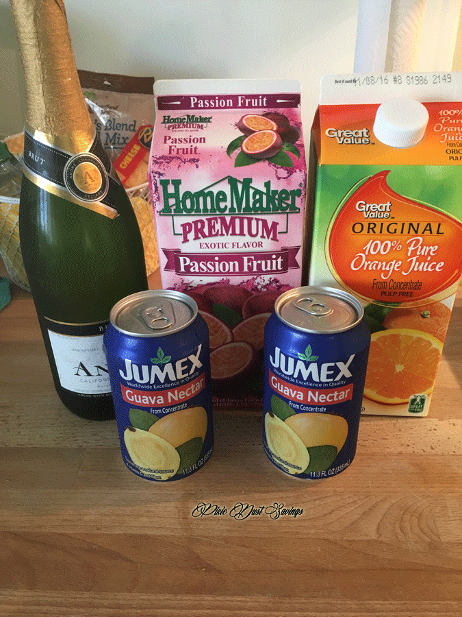 POG Juice Recipe Ingredients