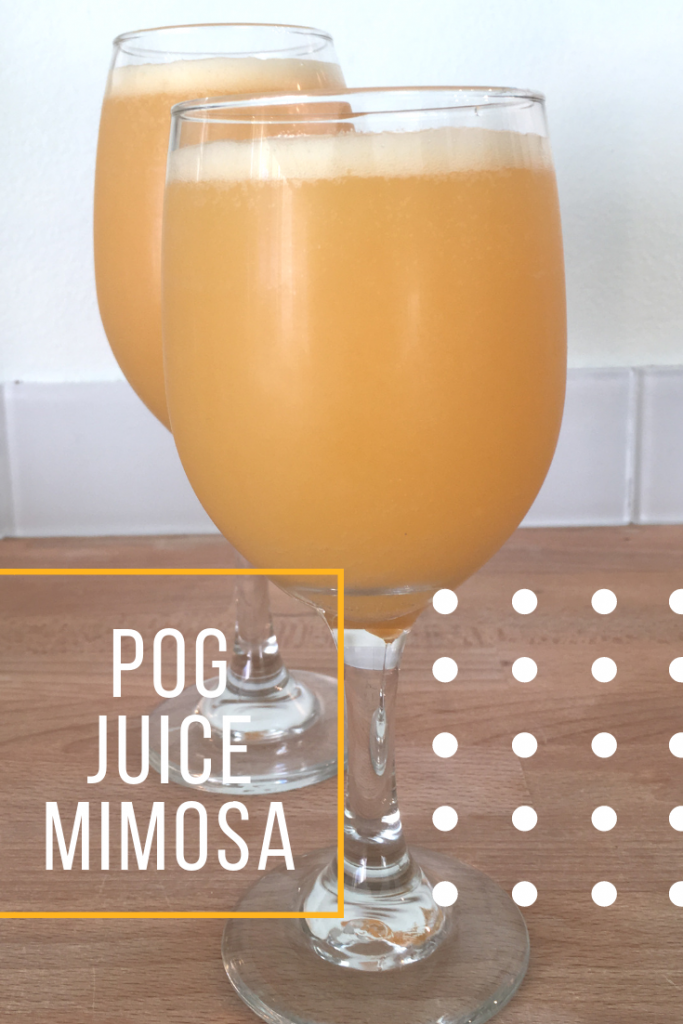 How to Make POG Juice Mimosa